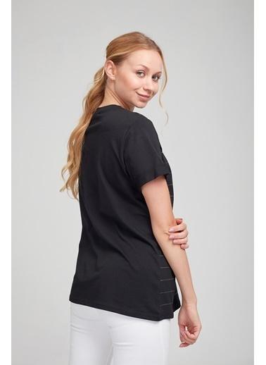 Optique Tişört Siyah